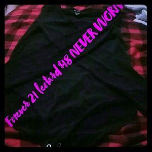 Forever 21 black bodysuit size L